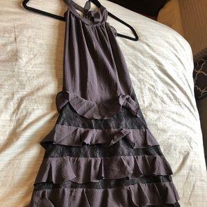 Rebecca Taylor Dark purple dress